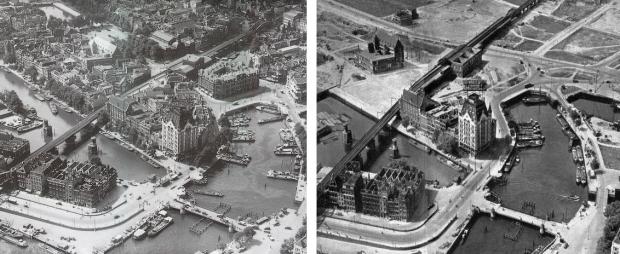 Rotterdam bombardement Hertekade