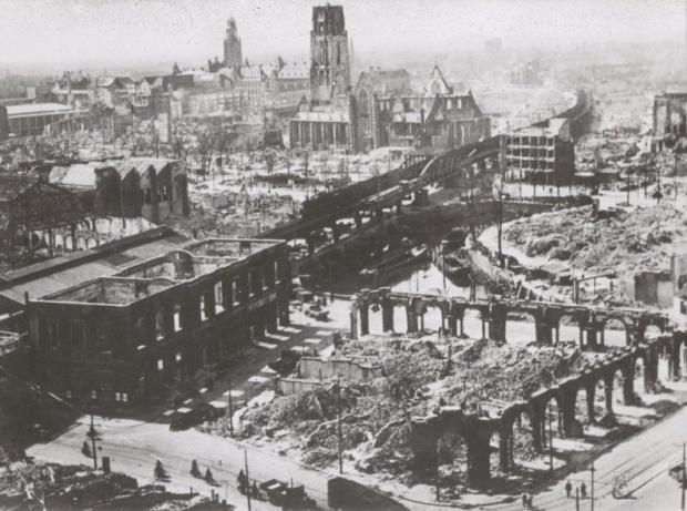 Rotterdam bombardement