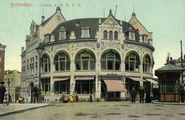 Station Hofplein Rotterdam oud