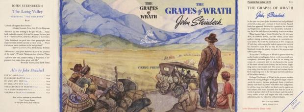 Steinbeck boekomslag