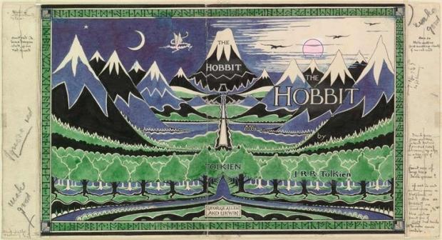 The Hobbit schetsontwerp