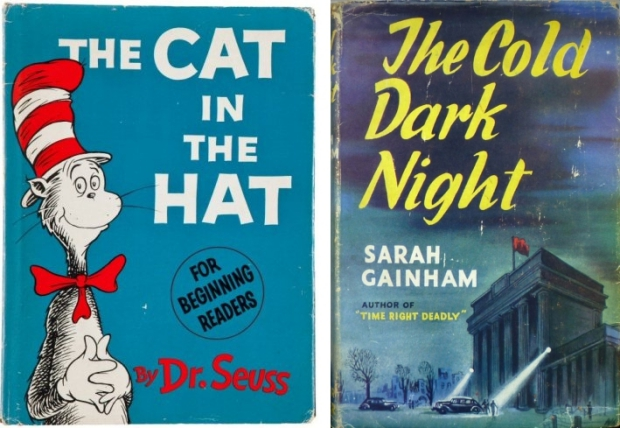 The cat in the hat boekomslag