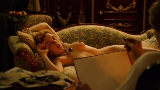 Titanic Kate Winslet getekend