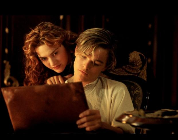 Titanic Kate en Leonardo