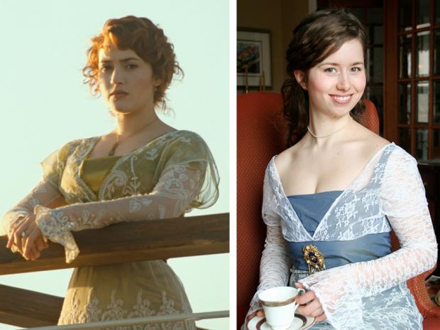 Titanic Marie Tea Dress