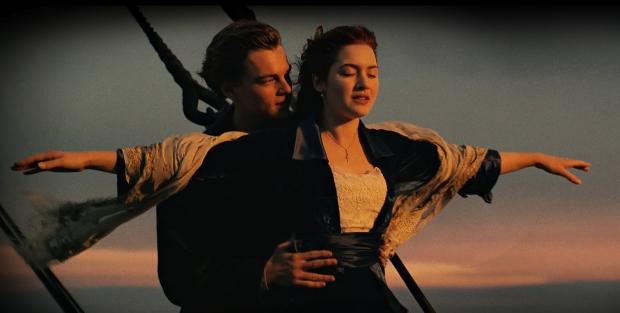 Titanic boegscène