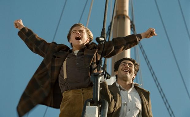 Titanic king of the world