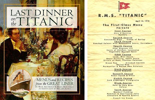 Titanic kookboek 2