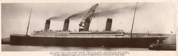 Titanic schoorstenen