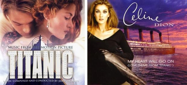 Titanic soundtracks