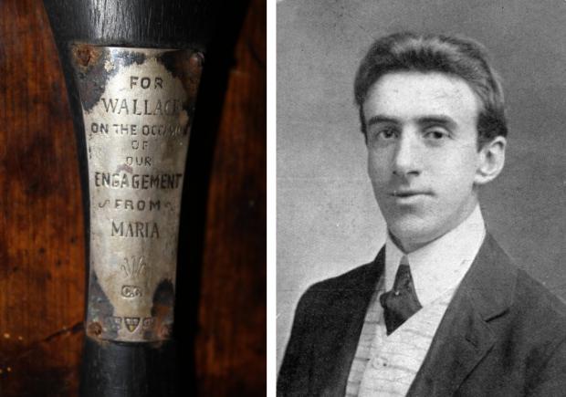 Titanic viool Wallace Hartley veiling