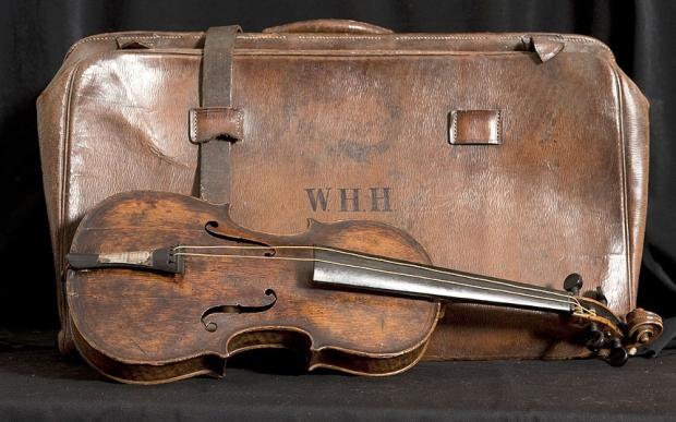 Titanic viool Wallace Hartley