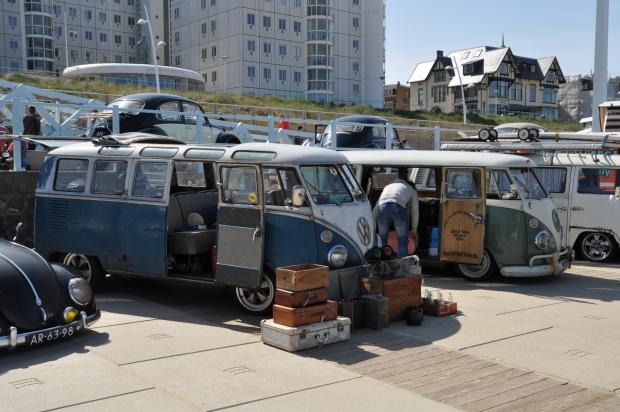 Aircooled Scheveningen Volkswagen busjes boulevard