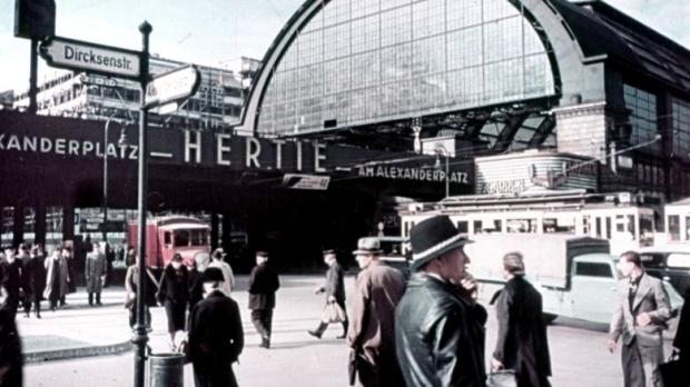 Berlin in frühen Farbdias fotografie 4