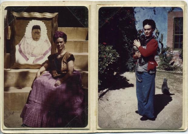 Frida Kahlo museum beelden