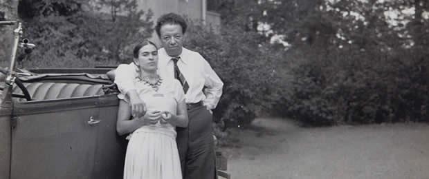 Frida en Diego