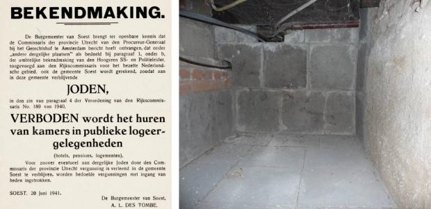 Hilversum onderduikers affiche