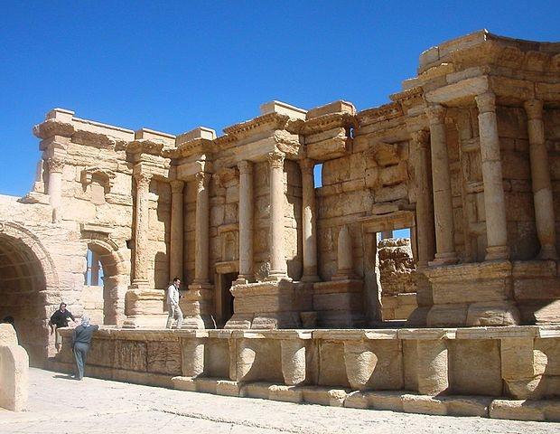 Palmyra Syrië Islamitische Staat 3