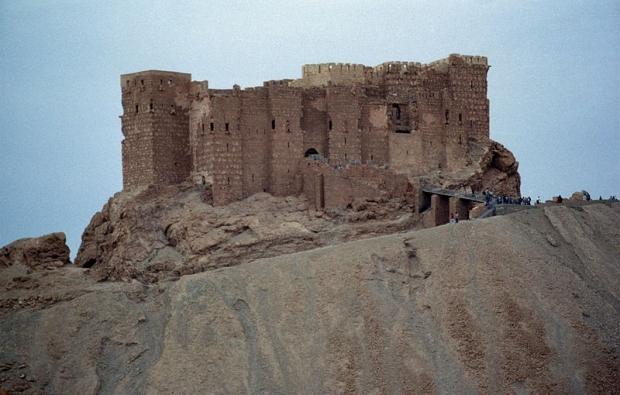 Palmyra Syrië burcht