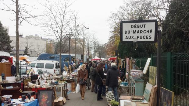 Parijs Vanves vlooienmarkt extra beeld