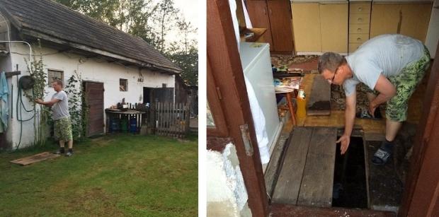 Polen onderduikers dorpje