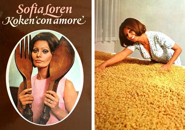 Sophia Loren Koken con amore 1971 boek