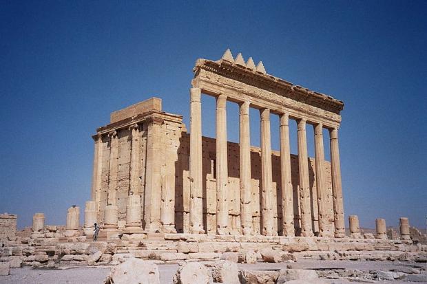 Syrië Palmyra Tempel van Bel