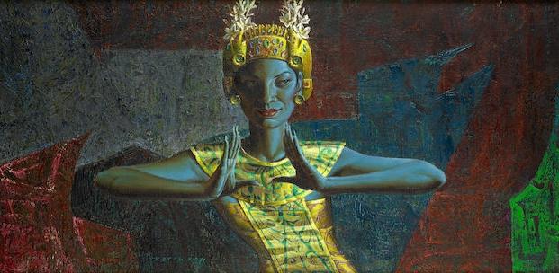 Tretchikoff Balinese dancer