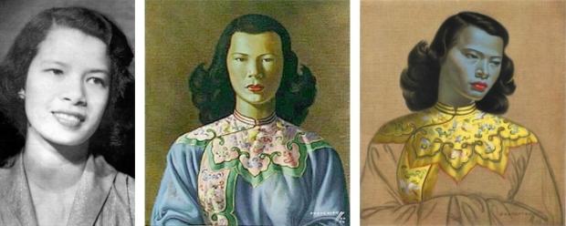 Tretchikoff Chinese Lady portretten