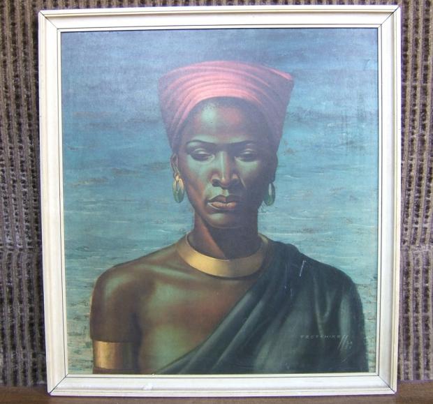 Tretchikoff Zulu Girl schilderij