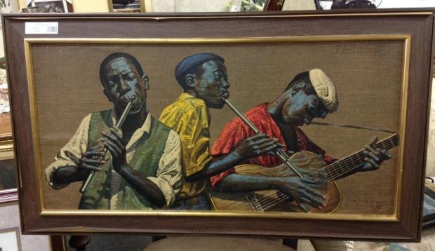 Tretchikoff penney whistlers schilderij
