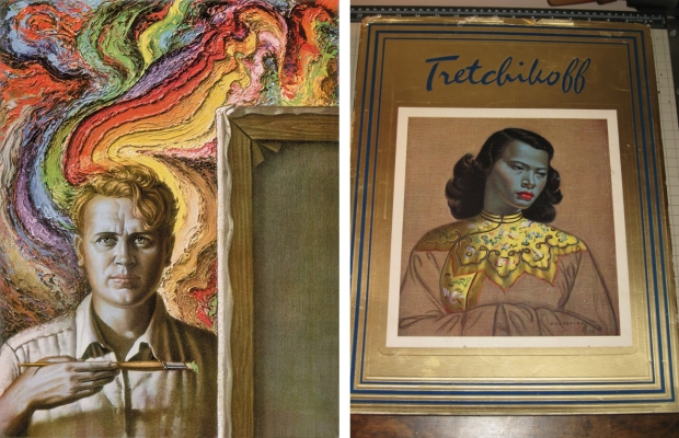 Tretchikoff schilderijenboek