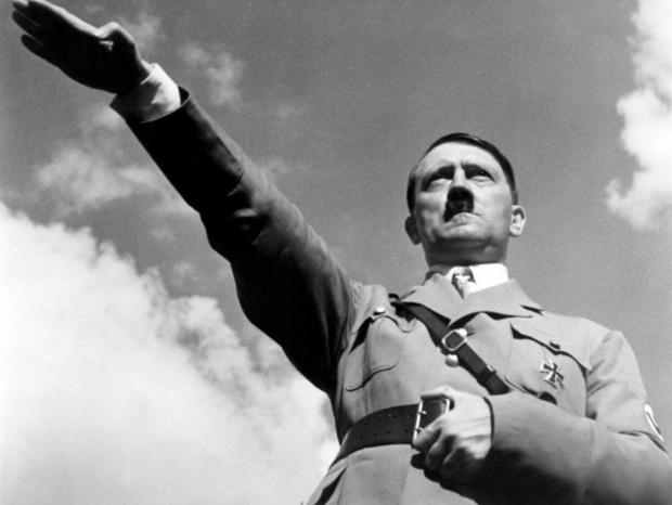 Adolf Hitler Hitlergroet