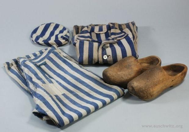 Auschwitz kampkleding