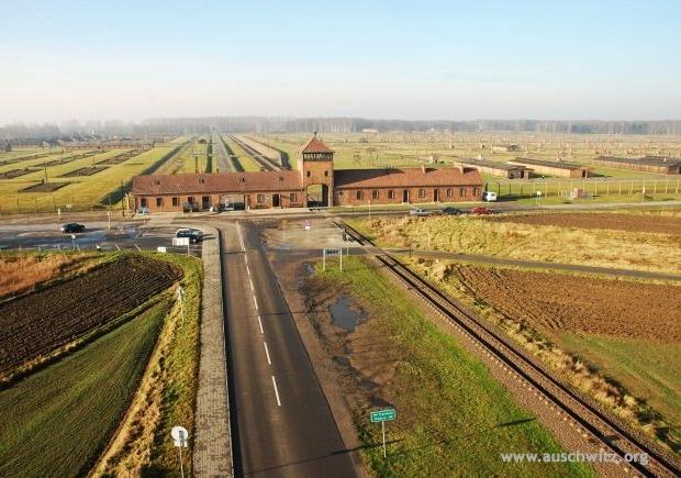 Auschwitz toegangspoort