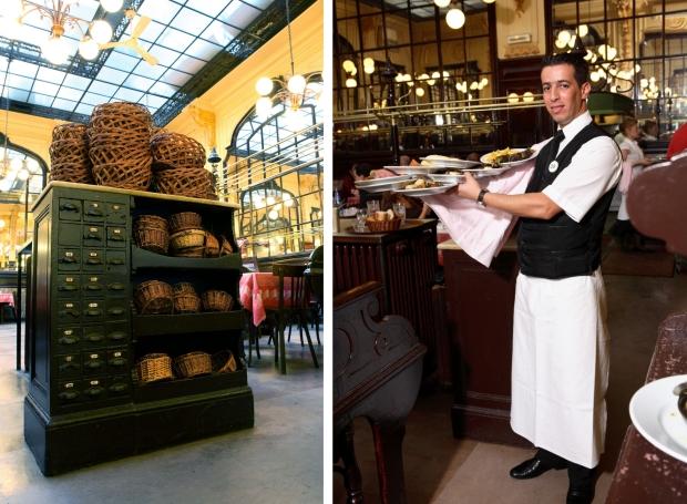 Bouillon Chartier Parijs ober