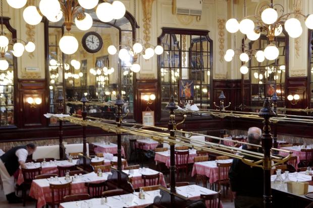 Bouillon Chartier restaurant Parijs