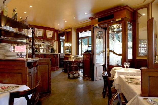 Chez Georges Parijs bistro
