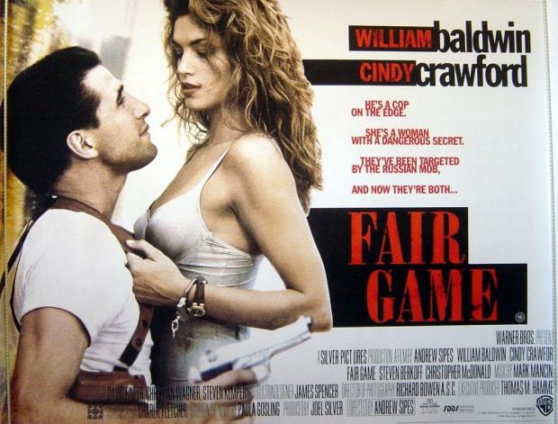 Cindy Crawford Fair Game poster