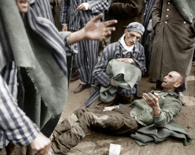 Concentratiekamp bevrijding gevangenen