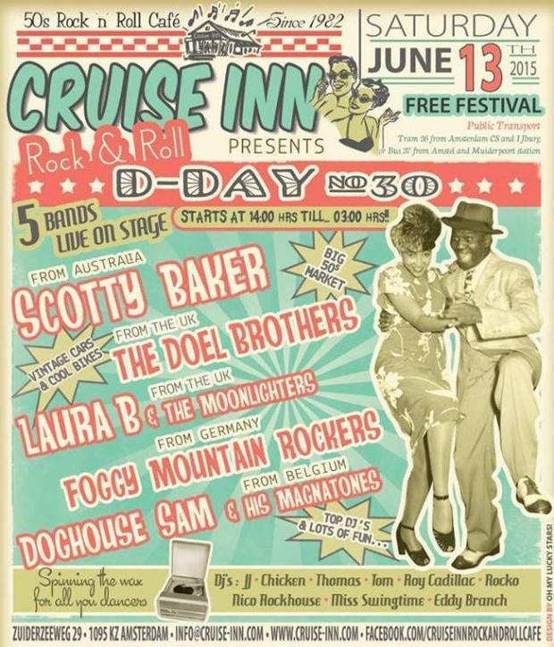 D-Day festival flyer