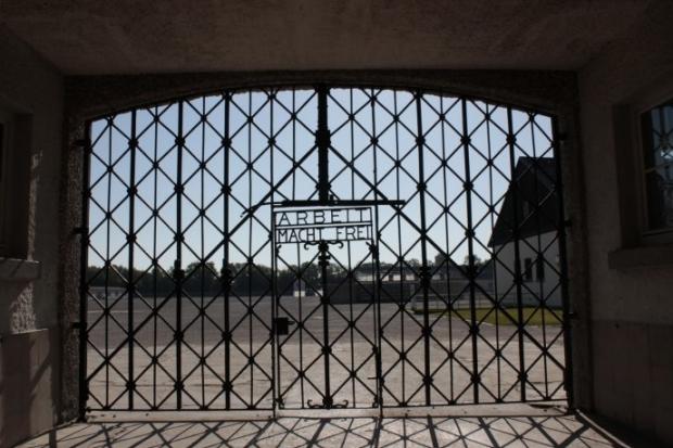 Dachau concentratiekamp poort