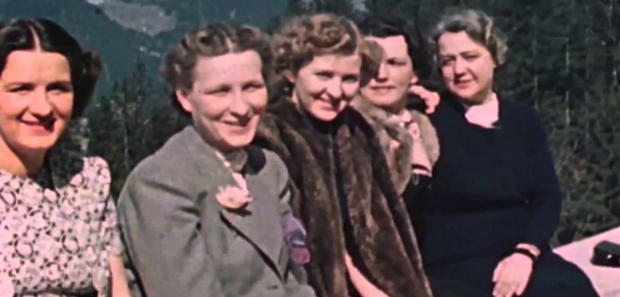 Eva Braun en vriendinnen