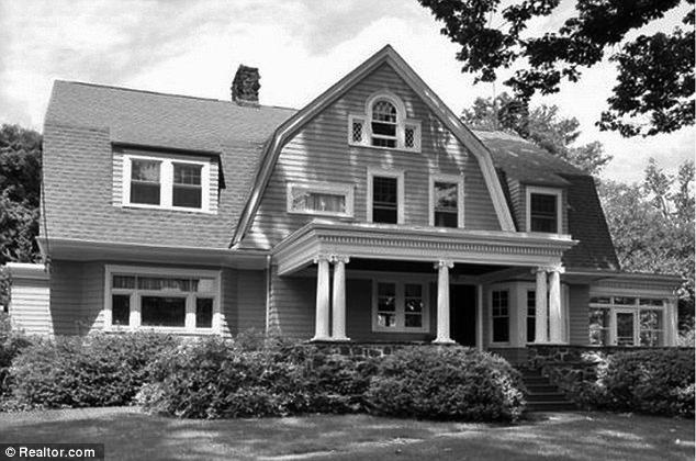 Huis The Watcher zwart wit