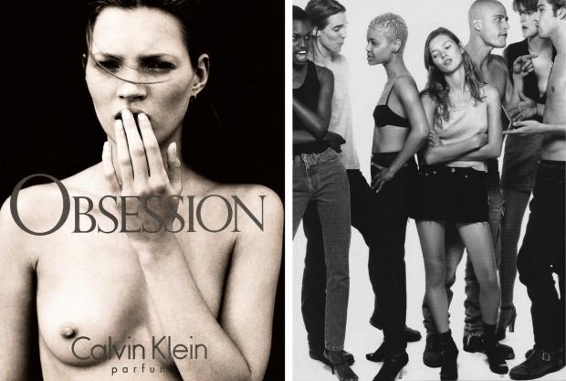 Kate Moss Calvin Klein 2