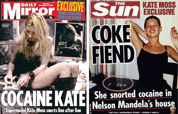 Kate Moss cokehead