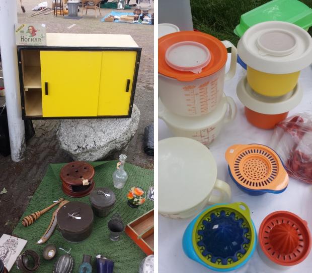 Makkinga rommelmarkt kastje Tupperware