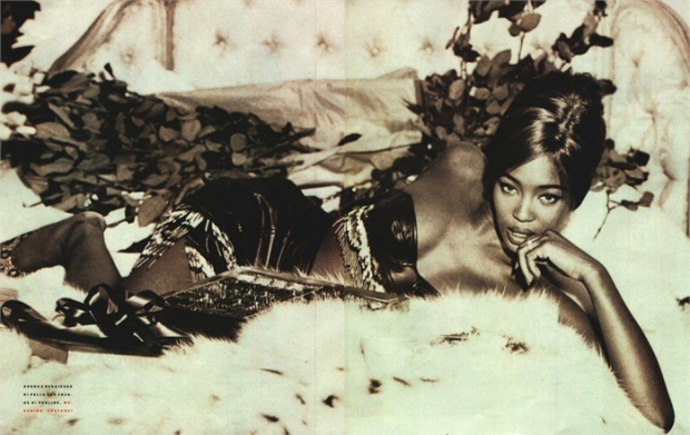 Naomi Campbell Vogue Italia