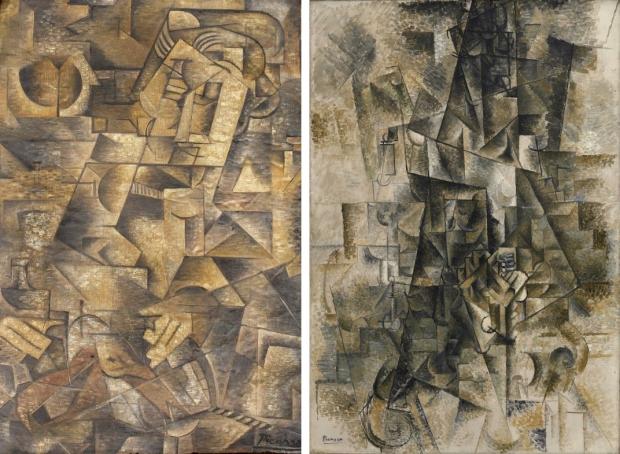 Picasso schilderij zolder vergelijk