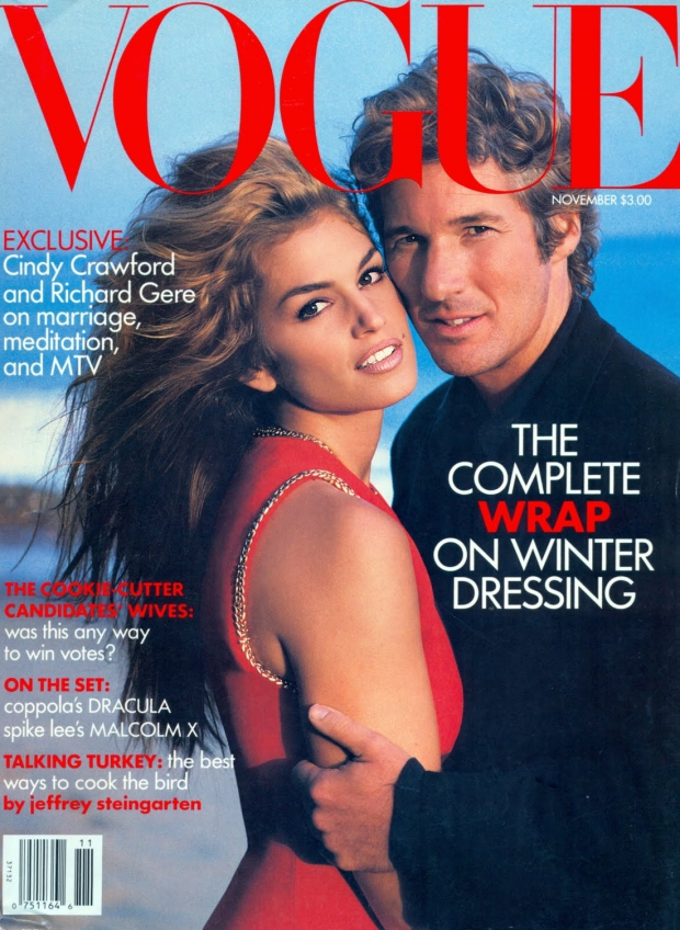 Richard Gere Cindy Crawford Vogue